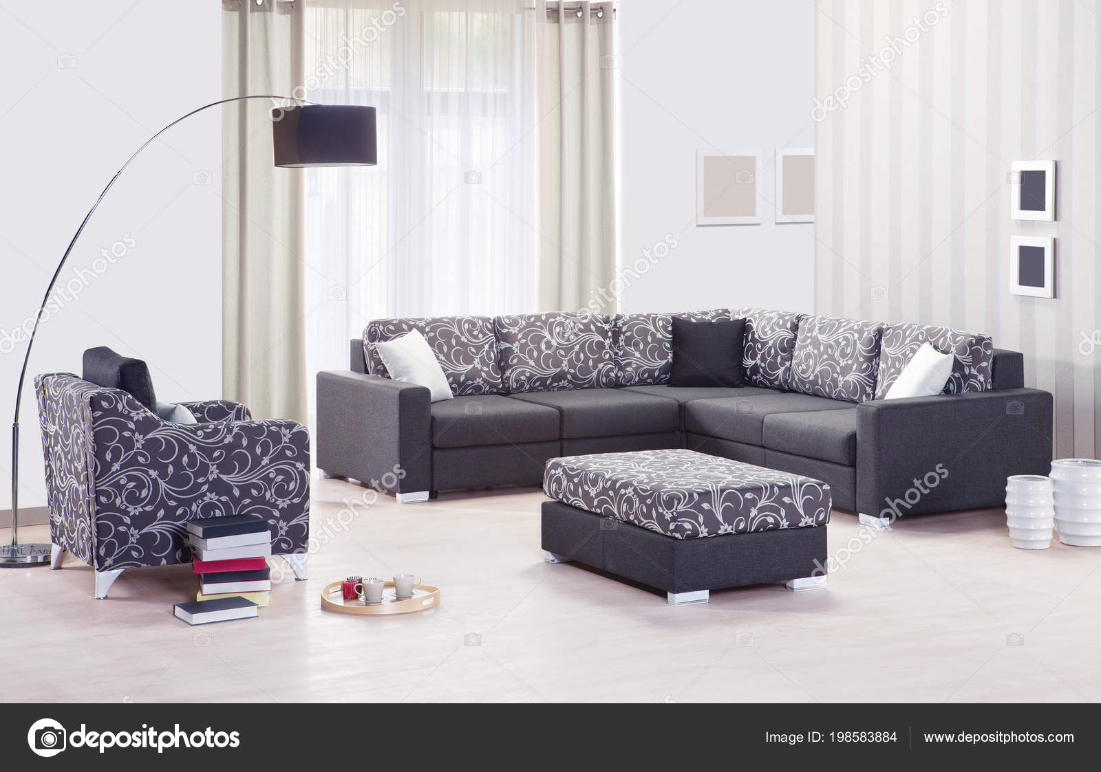 Sofa Set Images Free Download Corner Sofa Set Interior Stock Photo Saaras 198583884