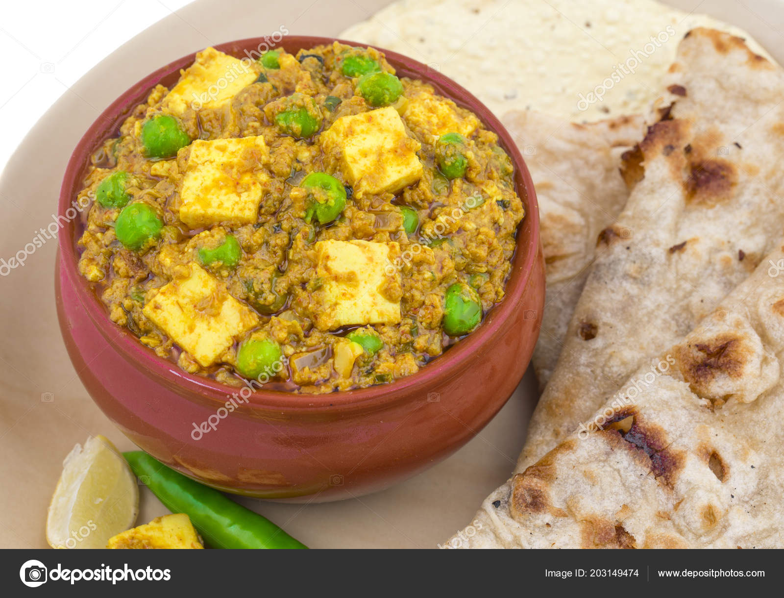 Cuisines Similar To Indian Indian Cuisine Mattar Paneer Vegetarian North Indian Dish