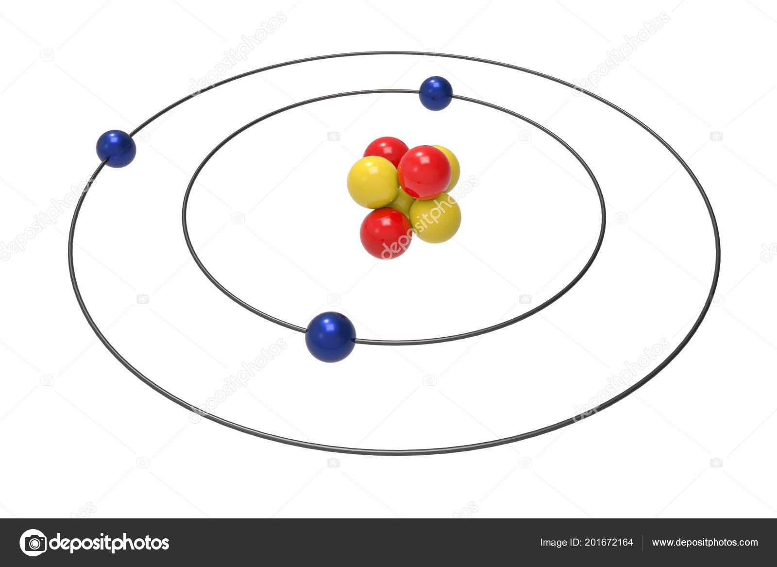 bohr diagram for arsenic