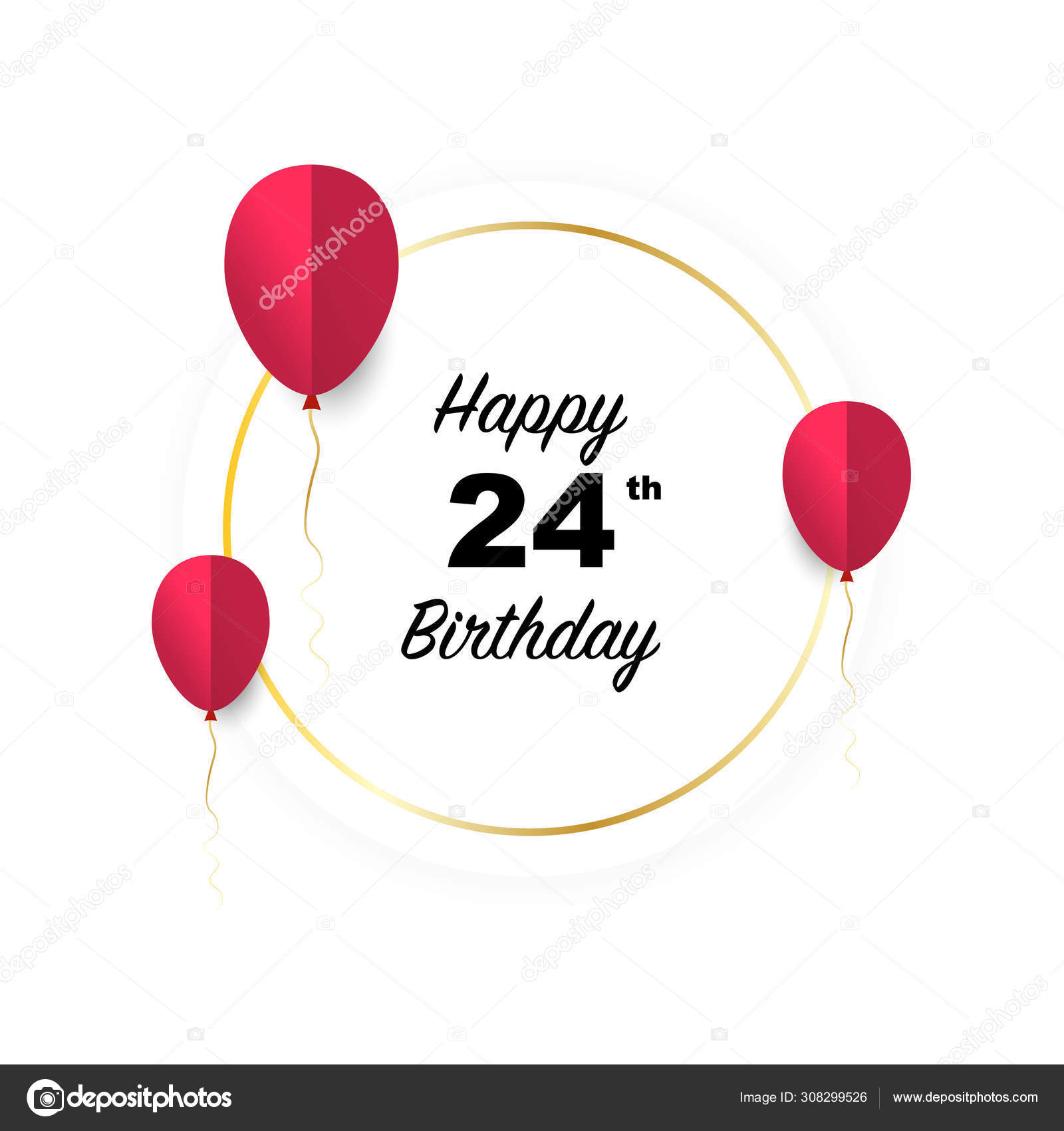 ᐈ Happy 24 Birthday Stock Images Royalty Free 24th Birthday Pictures Download On Depositphotos