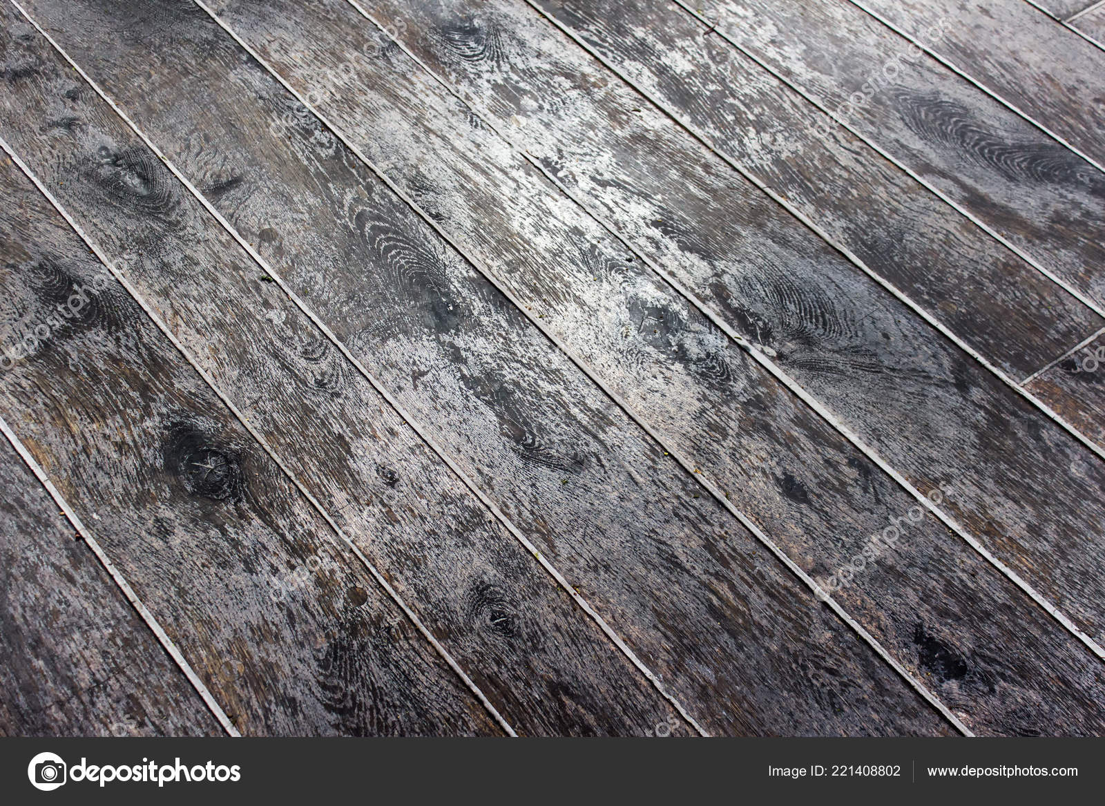 Parquet Brillant Parquet Vieilli Diagonale Photo Parquet Brillant Photographie