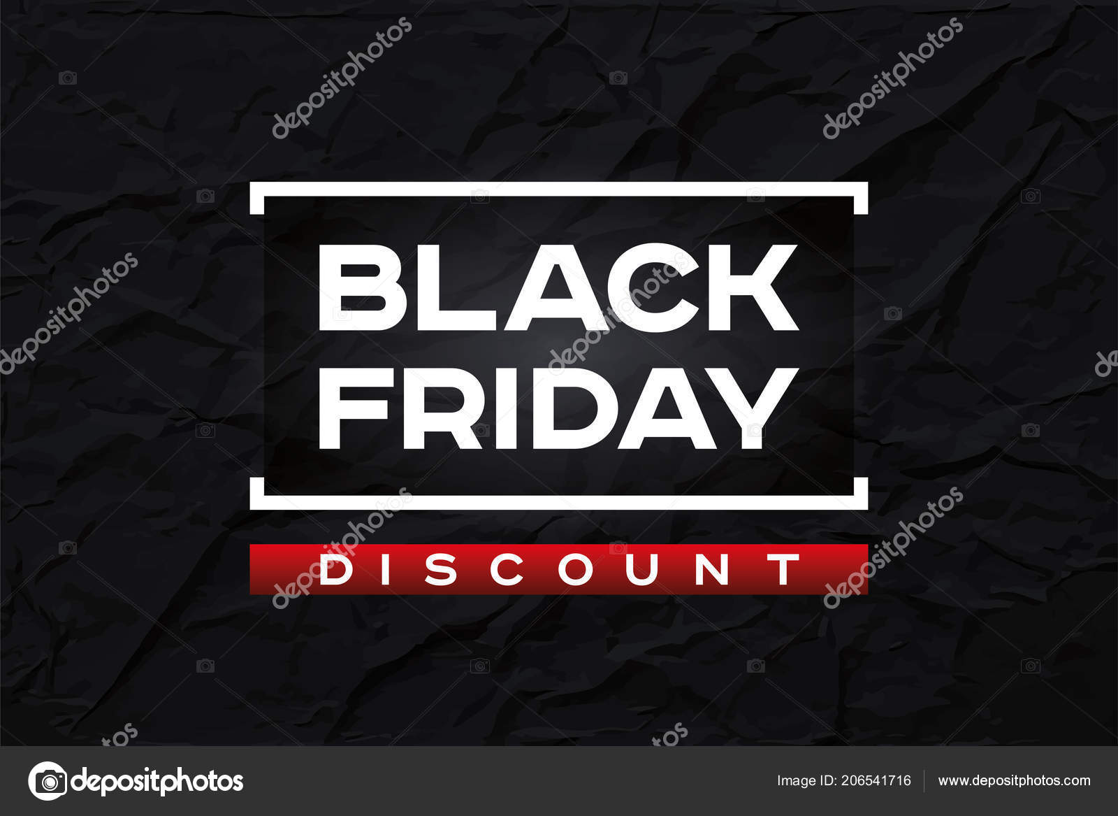 Black Friday Rabatt Black Friday Rabatt Dunkle Faltige Papierstruktur Abstrakte