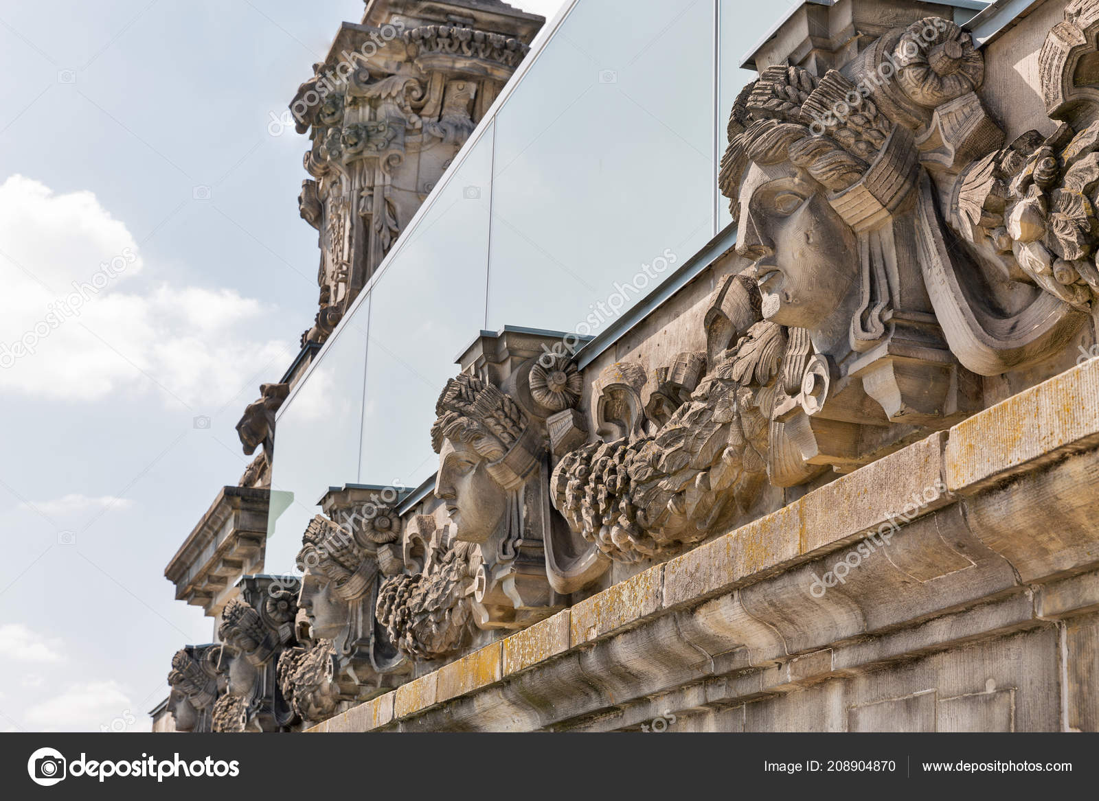 Berlin Gothic Gothic Architecture Detail Closeup Reichstag Berlin Germany