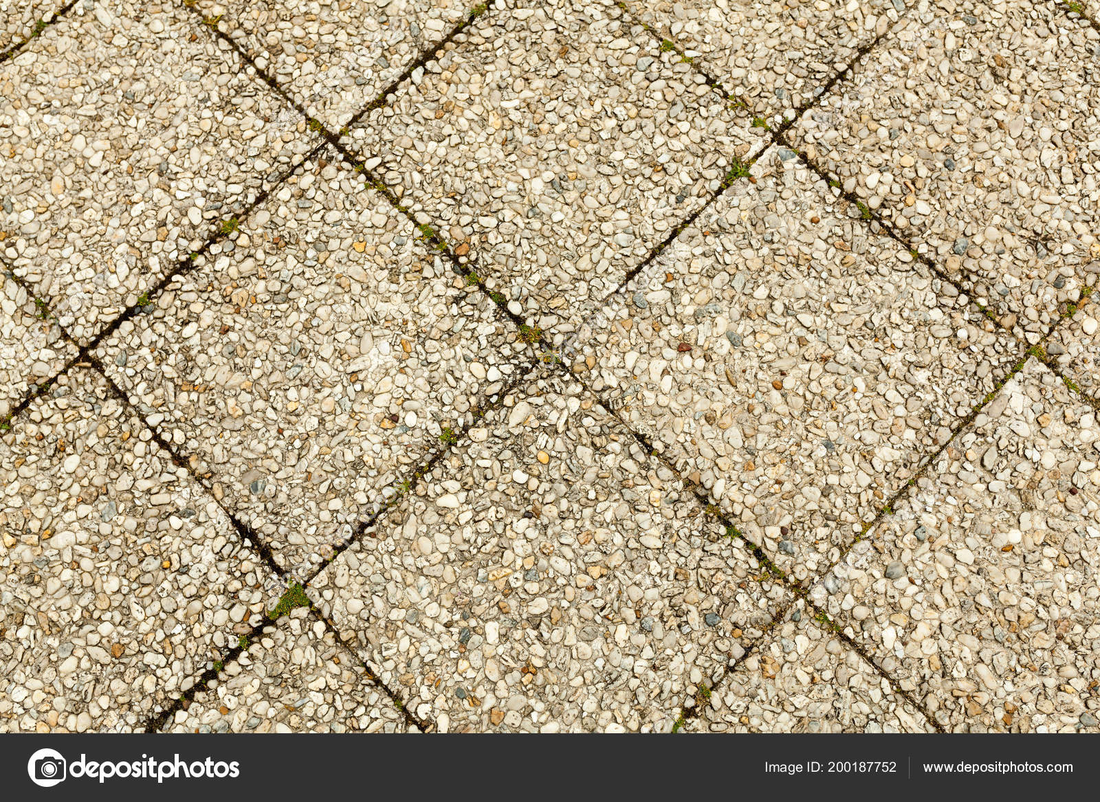 Carreaux De Ciment Texture Pebble Carrelage Carreaux Fond Sans Couture Ciment Mélangé Graviers