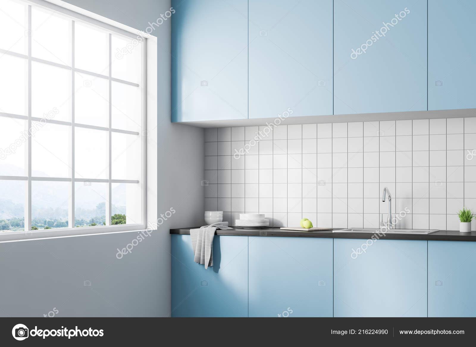 Piastrelle Blu Per Cucina | Arredare La Cucina Con Le Piastrelle ...