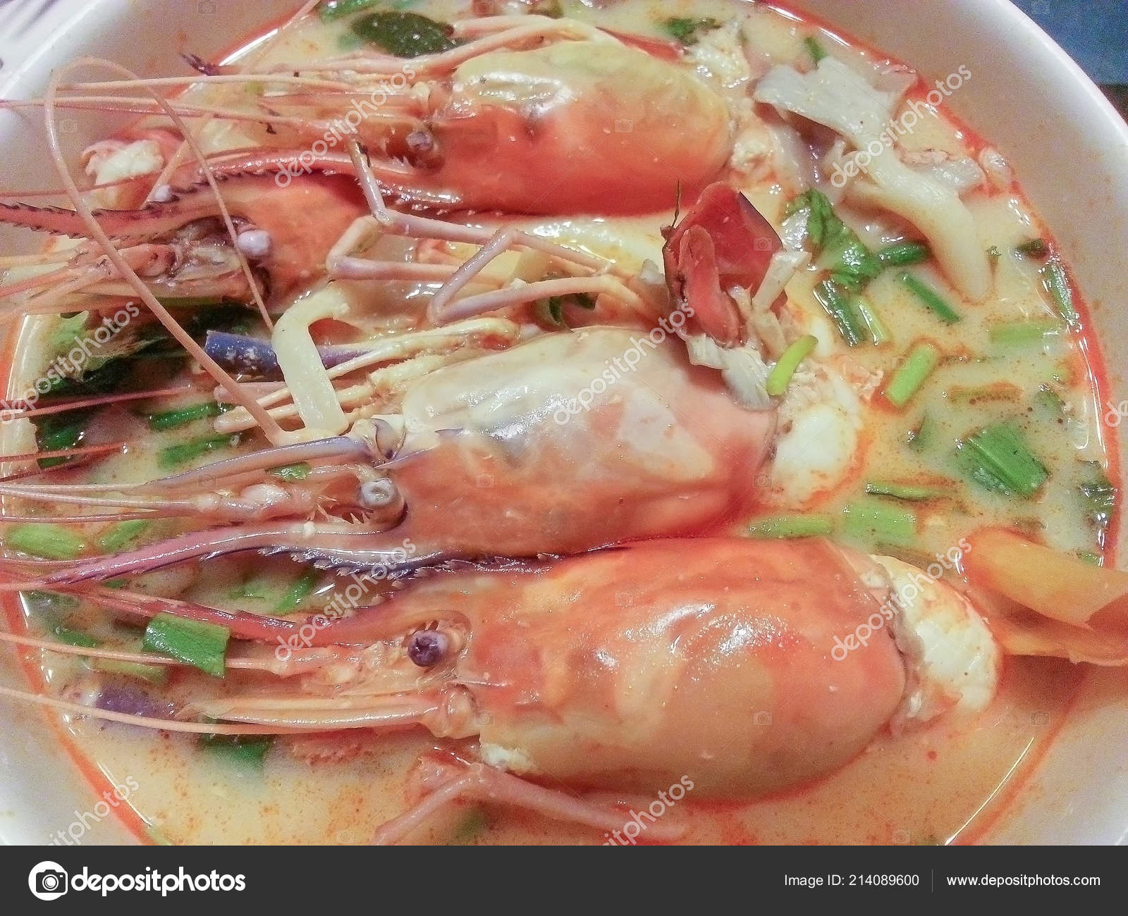 Cuisine Yam Tom Yam Kung Thai Cuisine Stock Photo Sutthituch 214089600