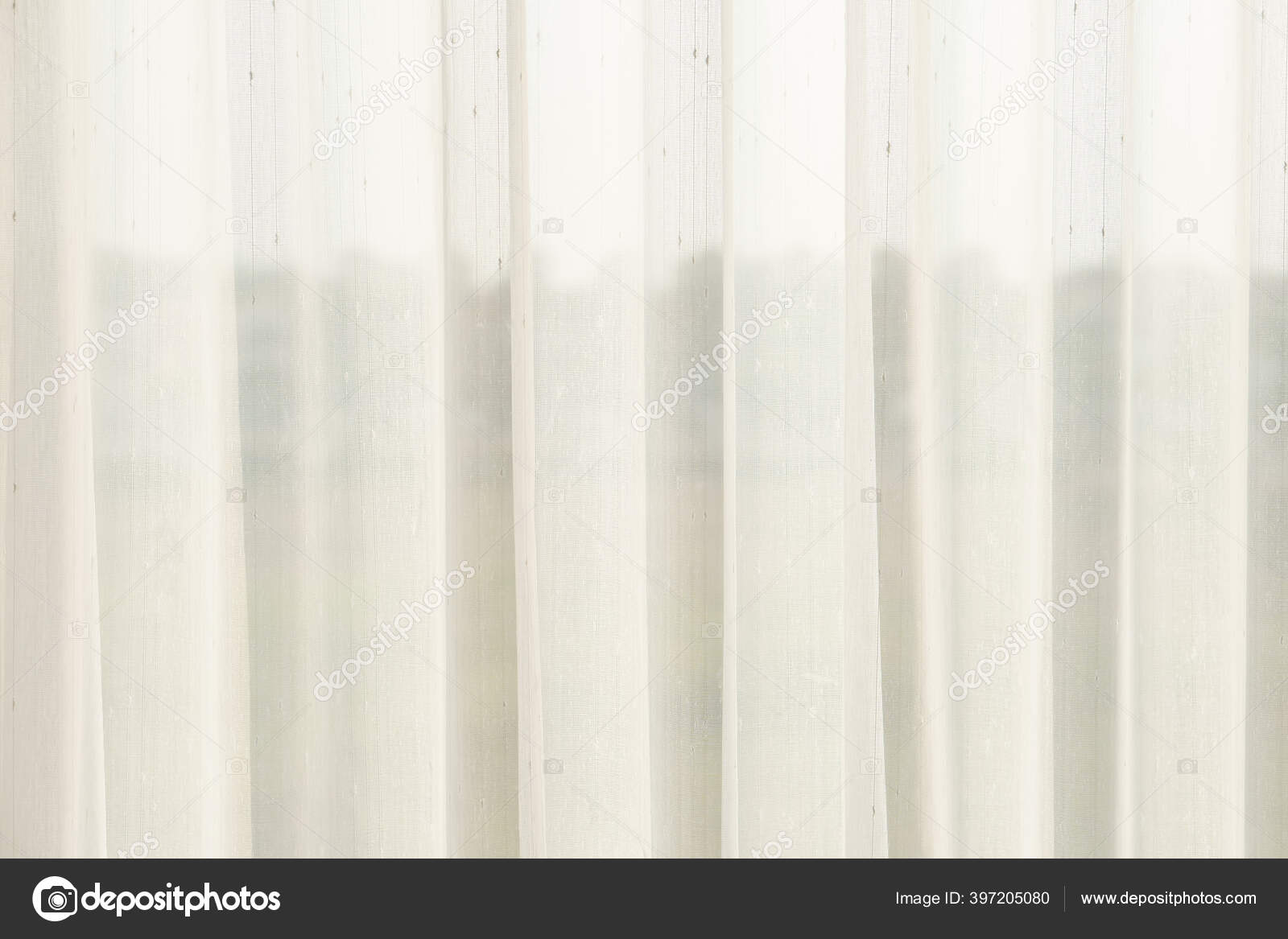 Airy Thin Transparent White Curtain Texture See Soft Light Window Stock Photo Image By Kornnphoto 397205080