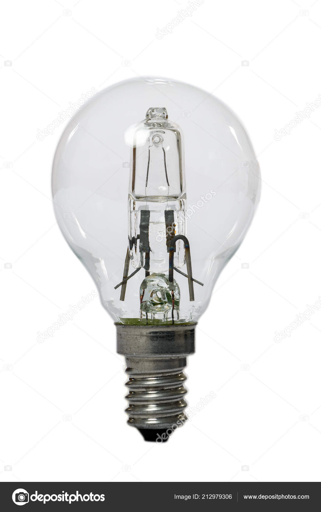 Halogen E27 Halogen Lamp Opaque Glass Bulb E27 Connection Old Standard