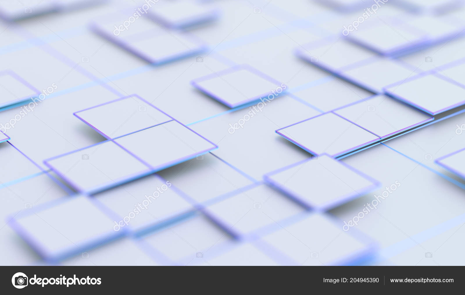 Placard Crossword Abstract 3d Rendering Of Geometric Surface Stock Photo