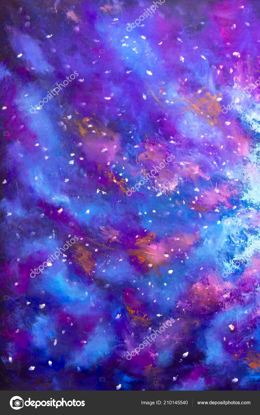 Arte Definition Francais Painting Space High Definition Star Field Background Art Starry