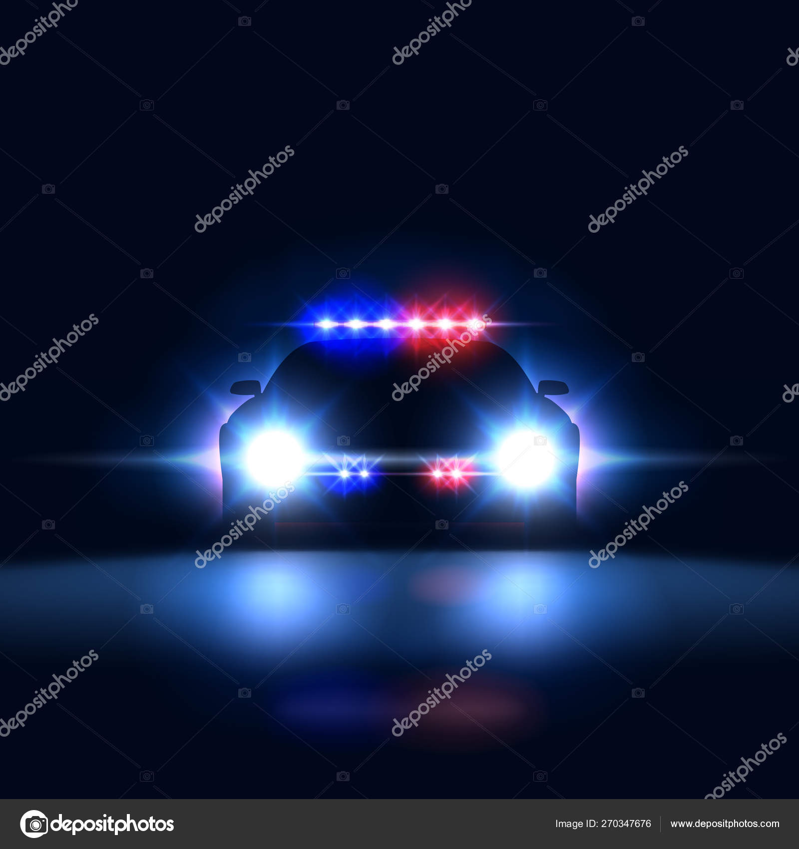 ᐈ Police Light Stock Backgrounds Royalty Free Police Lights Night Vectors Download On Depositphotos