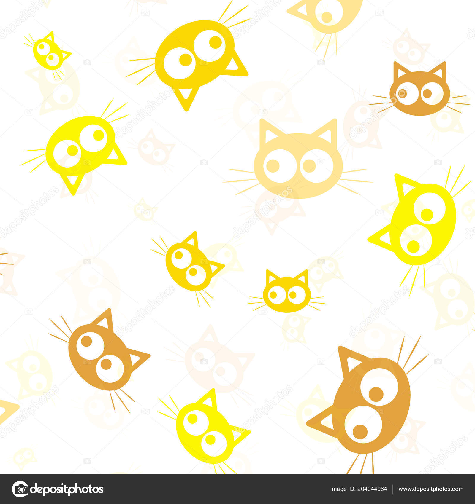 Animal Design Animal Silhouette Wallpaper And Fabric Design And Decor Vector