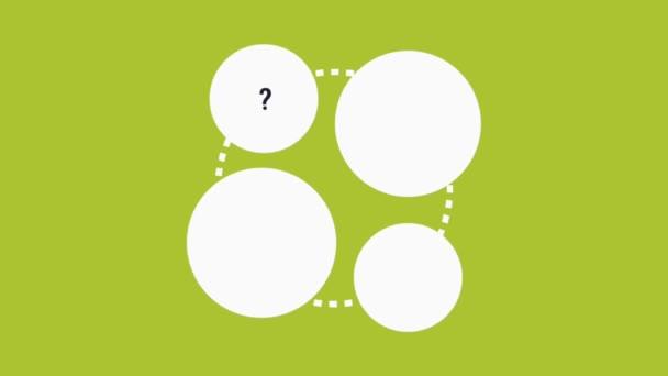 Call Center Customer Service Symbols Green Background High