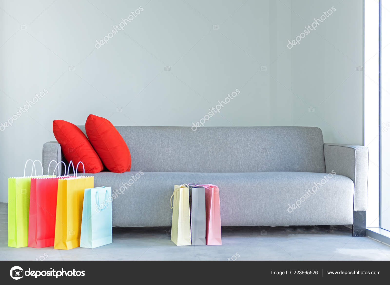 Sofa For Living Room Online Shopping Online Colorful Shopping Bags Red Pillow Sofa Living Room