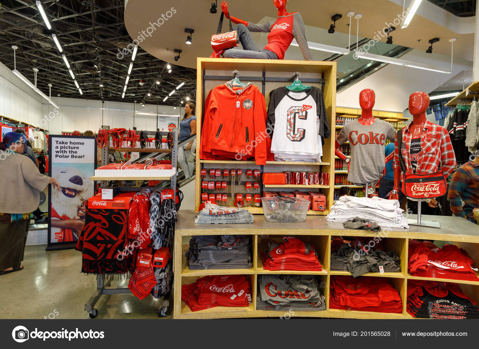 Store En Stock Las Vegas Nevada May 2018 Coca Cola Store Las Vegas Stock