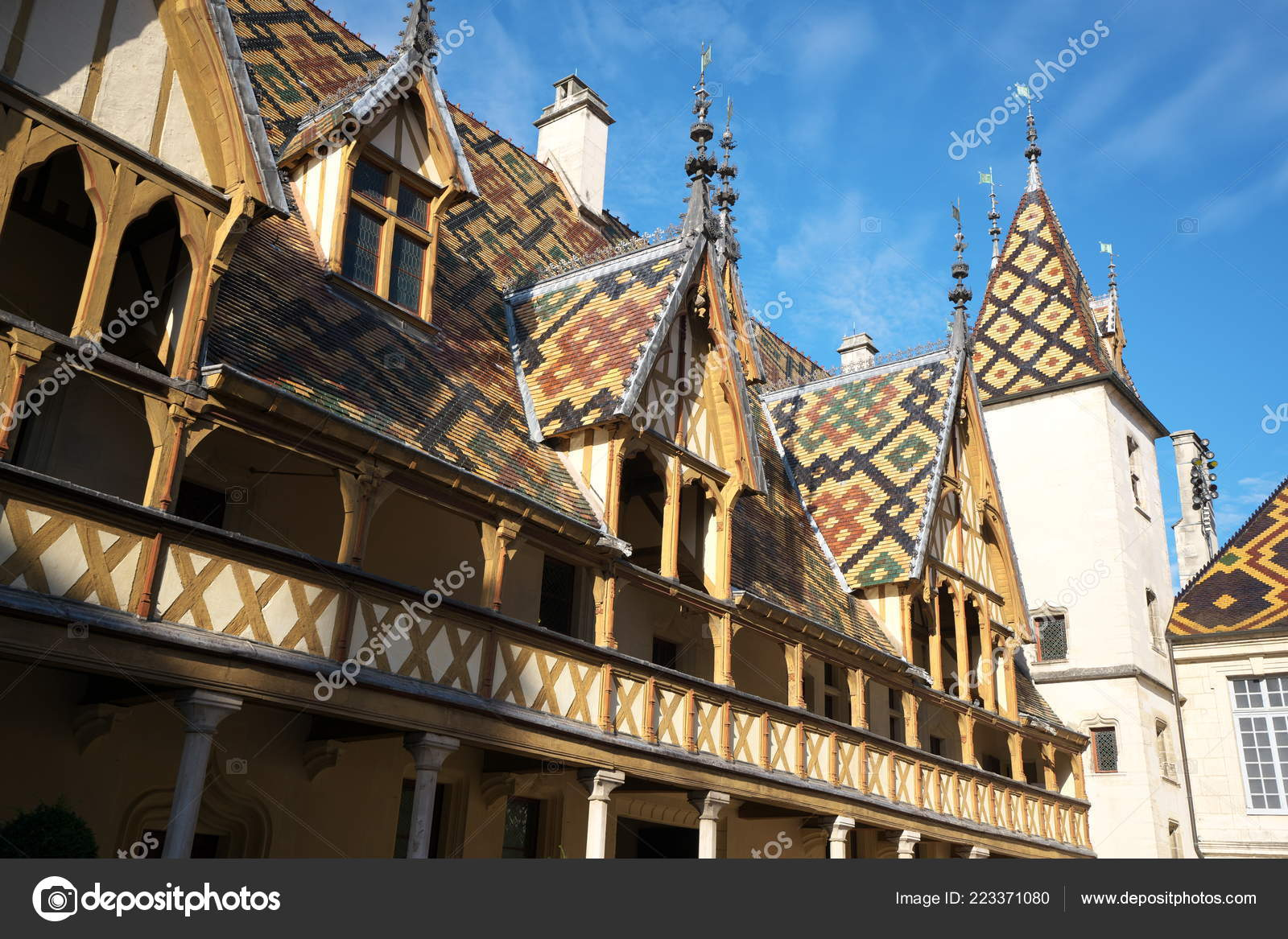 Beaune Hotel Beaune France October 2018 Hospices Beaune Hotel Dieu Beaune