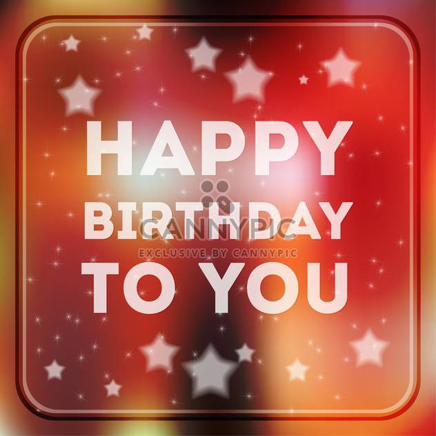 Happy Birthday Poster Background Free Vector Download 134176 CannyPic