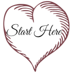 Start here - heart button