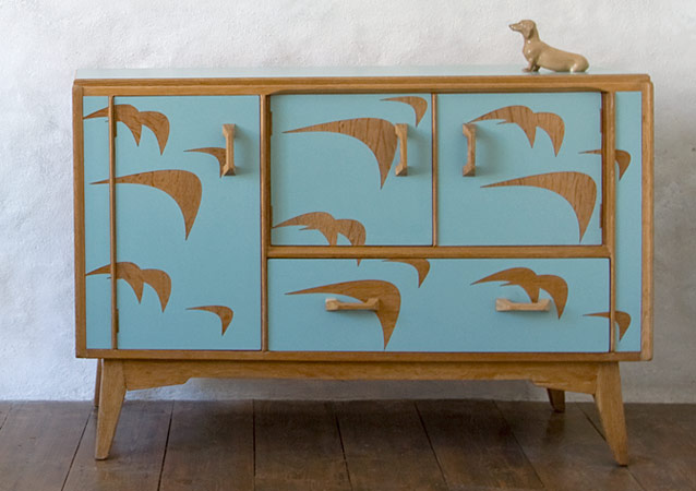 Vintage Sideboard Cornwall Furniture By Lucy Turner - The Design Sheppard