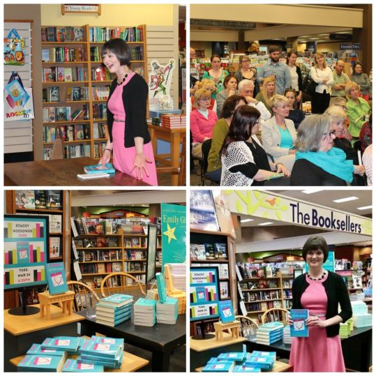 Book Signing Collage