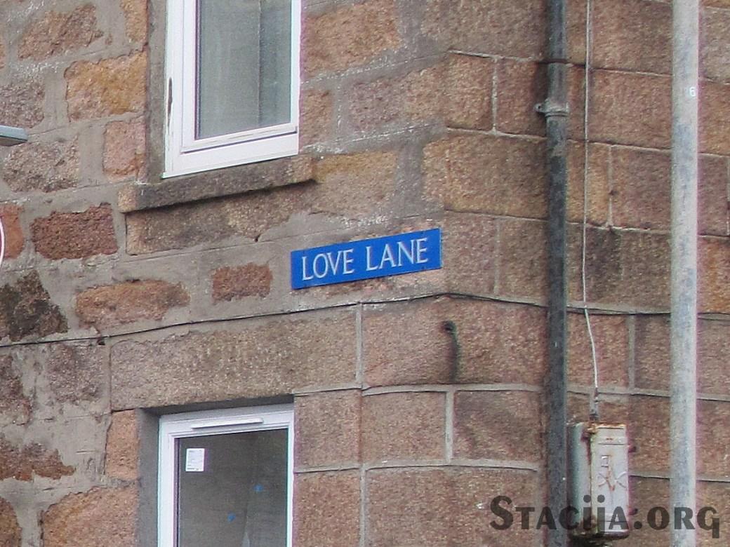 Burvīgs ielas nosaukums. Tādēļ vien varētu tur dzīvot.