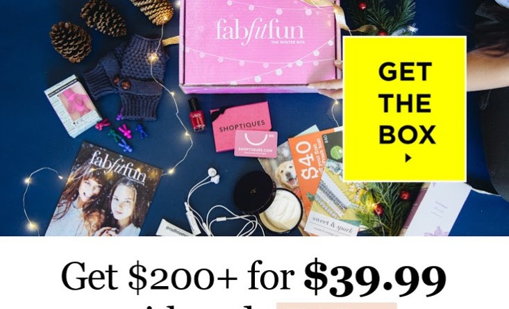 fab fit fun winter box