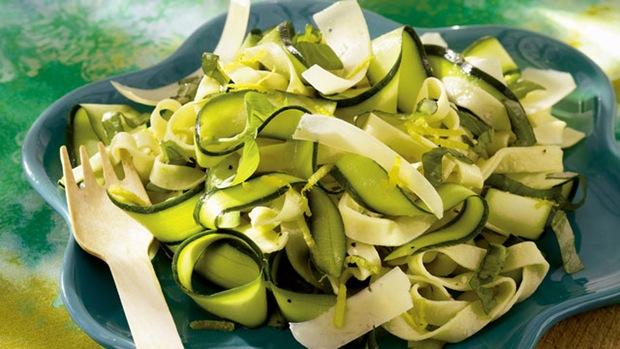 Zucchini Pasta Rinnon Salad