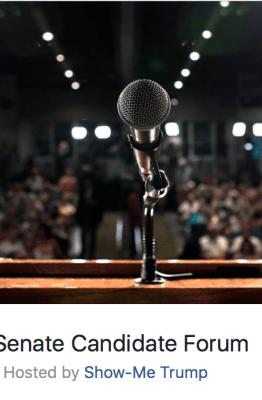 US Senate candidate forum