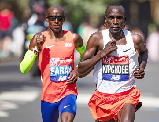 Afbeeldingsresultaat voor Eliud Kipchoge remporte le marathon de londre 2019