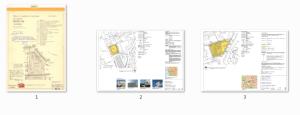 Tre detaljplaner inom samma område