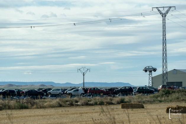 Aragon, statt Bäumen, SEAT 600