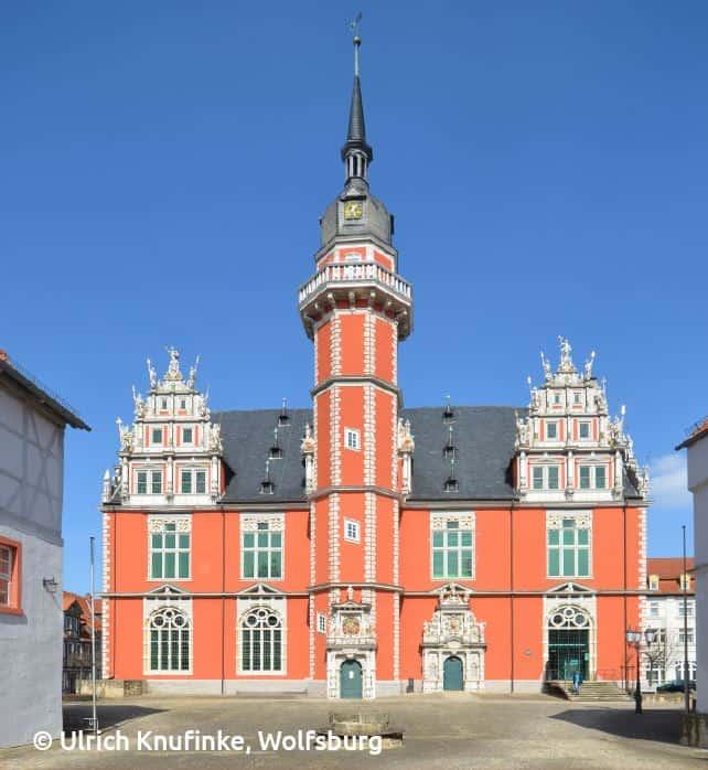 Das Juleum wurde zwischen 1592 und 1612 im Baustil der Weserrenaissance errichtet.