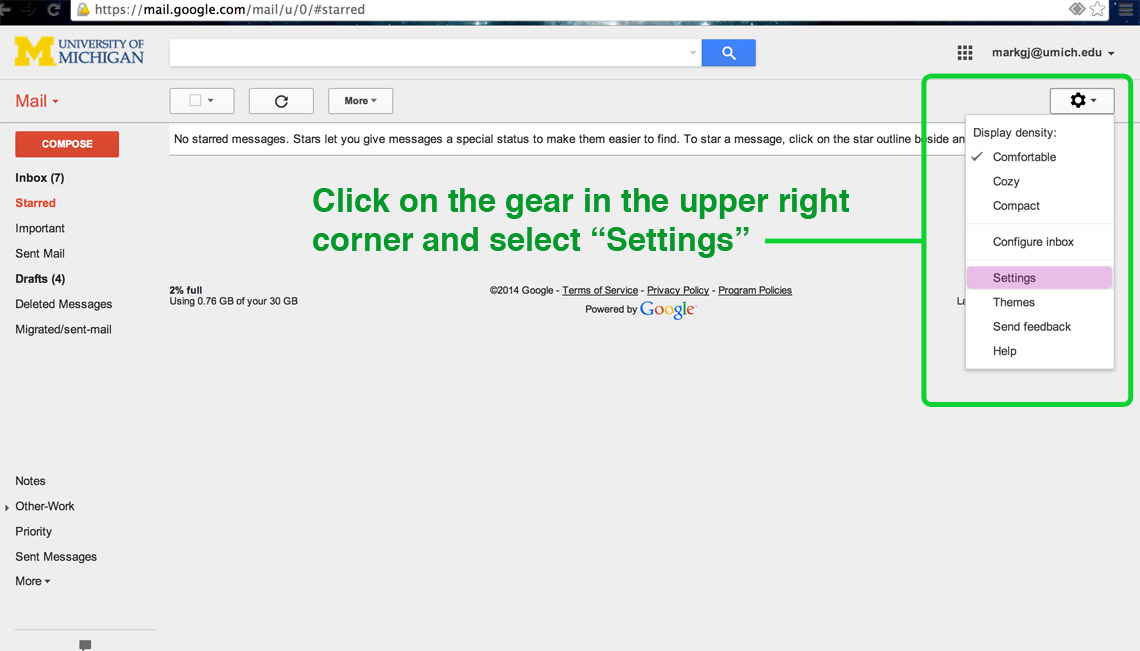 How to Add a Logo / Signature to your Gmail Student Life Groups