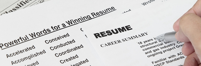 How to Prepare your RESUME or CV - preparing a resume