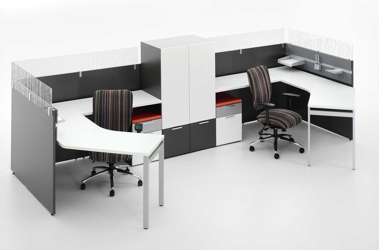 2 Person Work Station 2 Person Office Desk Home Furniture Design