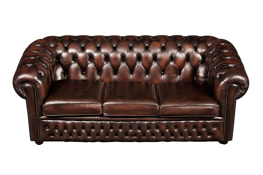 Sofa Slipcovers Brown Leather Chesterfield Sofa - Home Furniture Design
