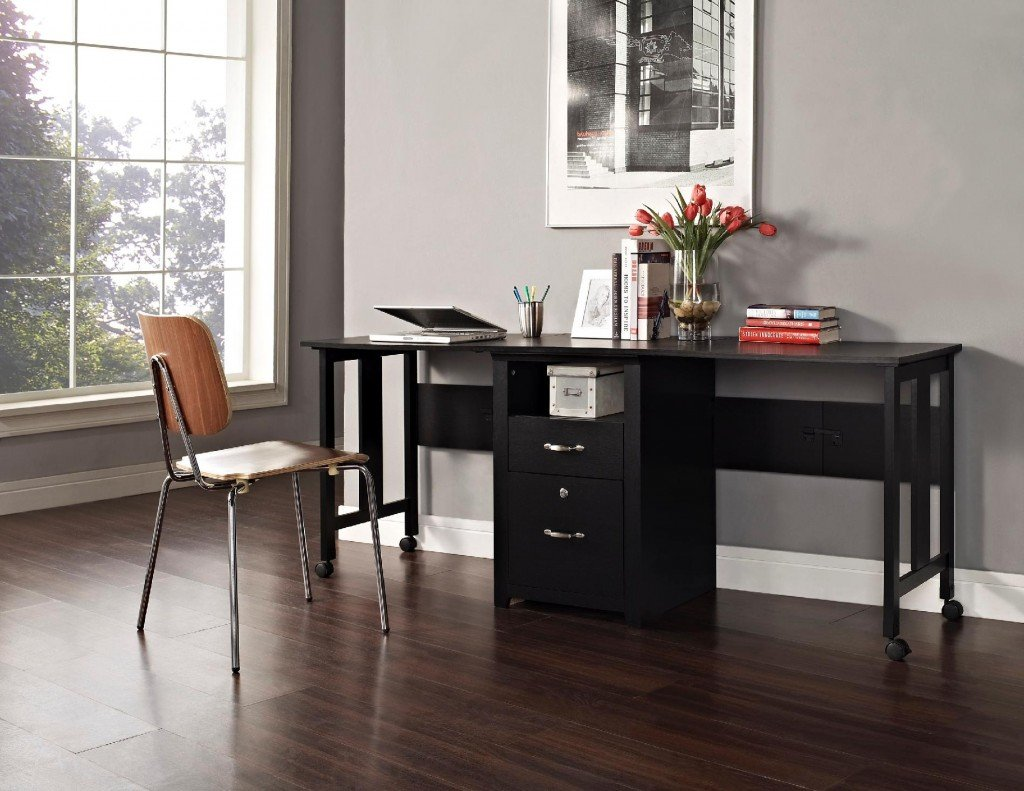 2 Person Executive Desk Home Office Furniture For Two People