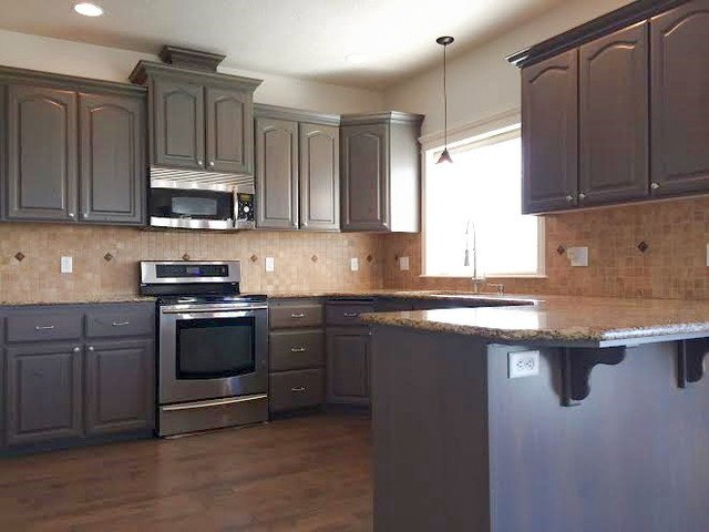 kitchen cabinets cabinets posted august pm painted black kitchen cabinets photos home improvement area