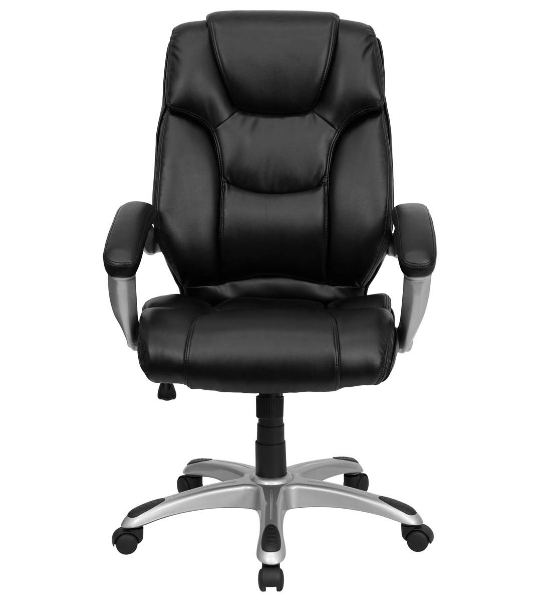 High Back Desk Chair High Back Black Leather Executive Office Chair Home