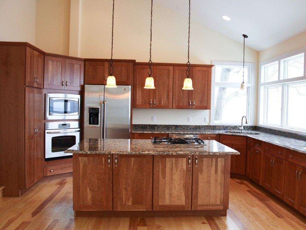 Lights For Kitchen Cabinets Light Cherry Kitchen Cabinets Home Furniture Design