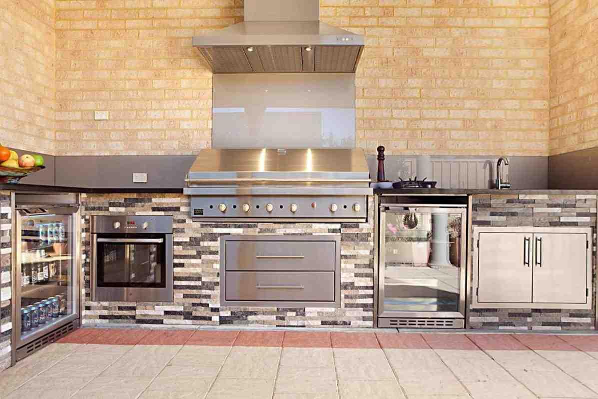 Outdoor Küche Stein : Küche selber bauen aus stein pantry küche modern