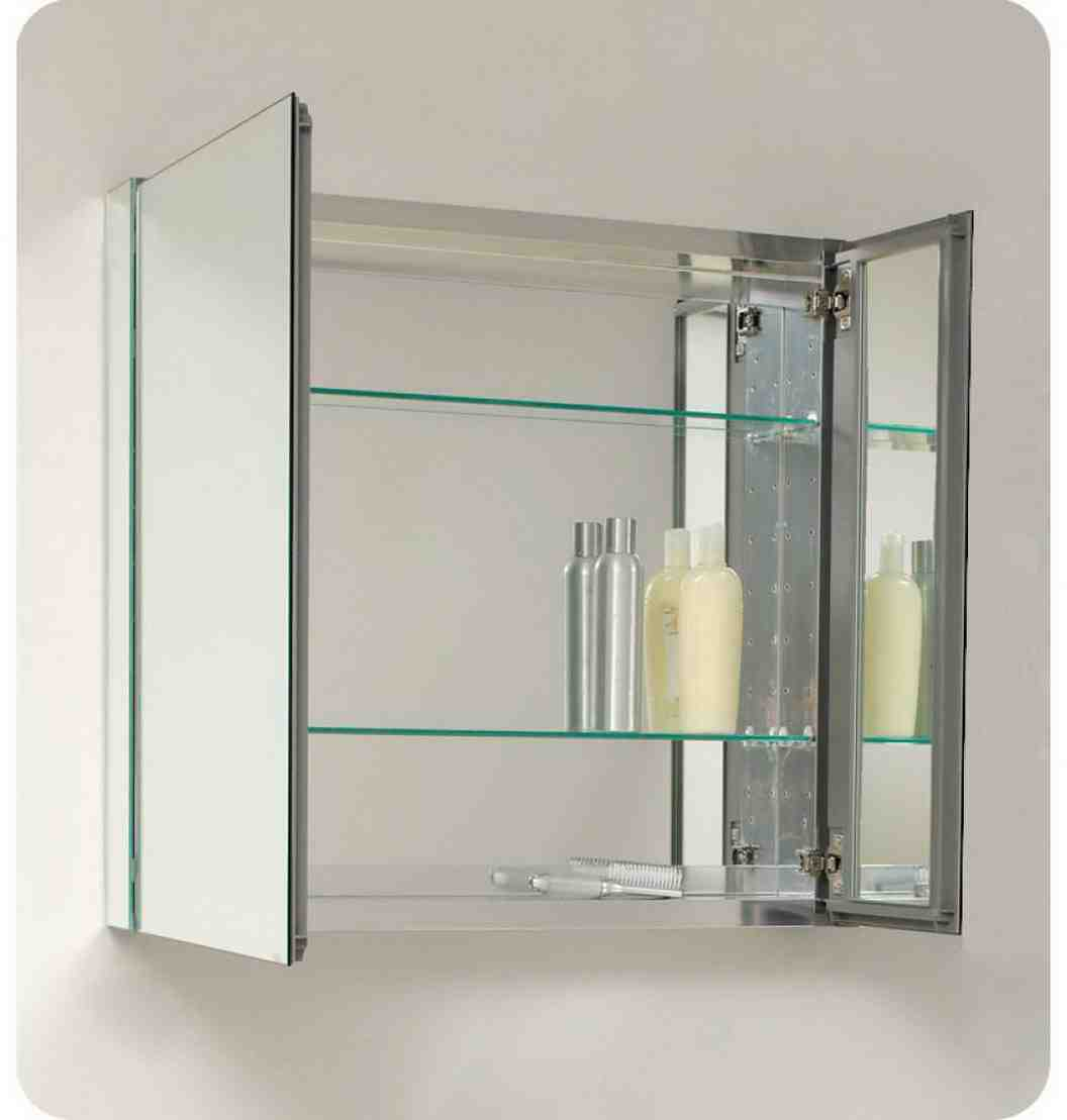 Bathroom Cabinet With Mirror Mirrored Bathroom Cabinet Home Furniture Design