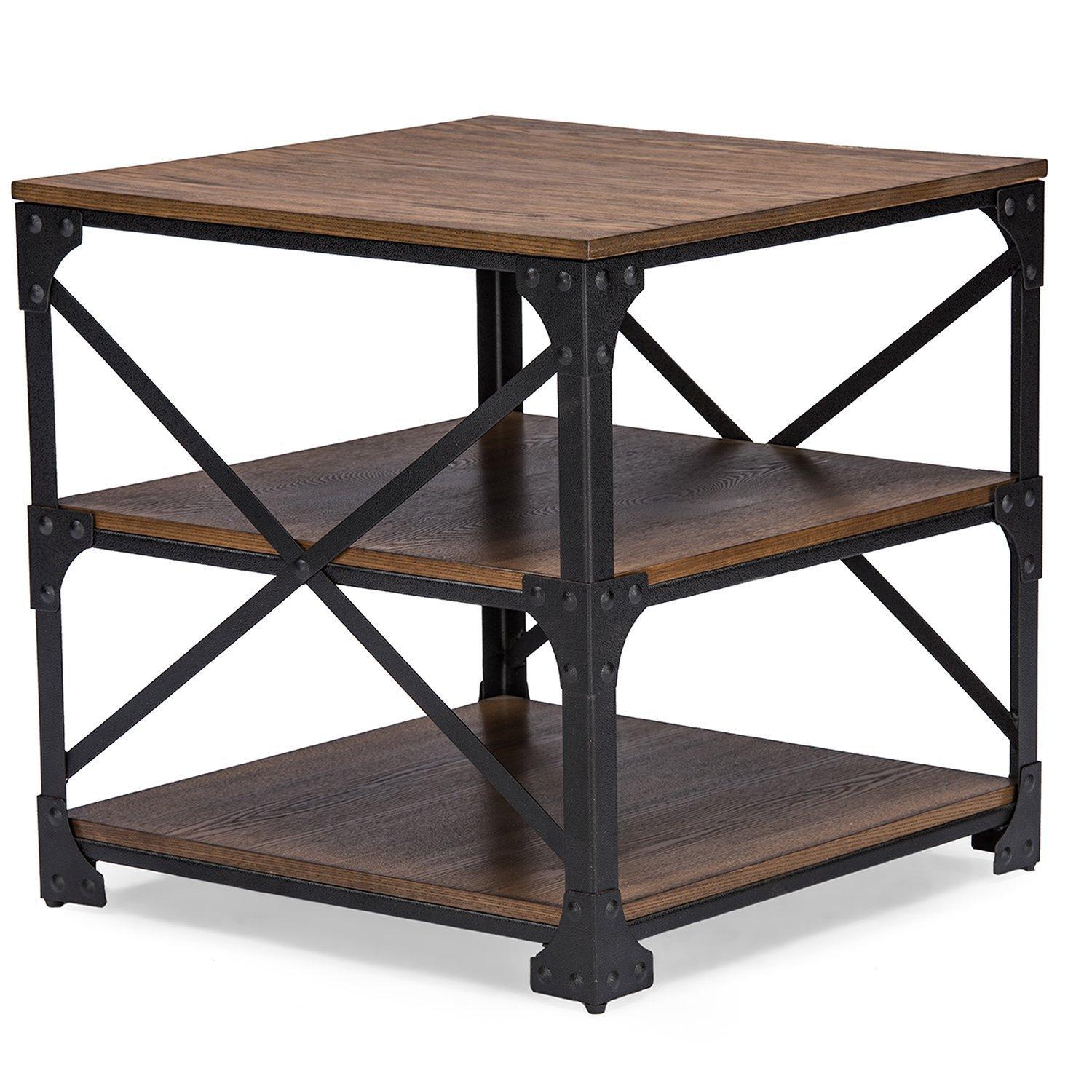 Industrieel Sidetable Industrial End Table - Home Furniture Design