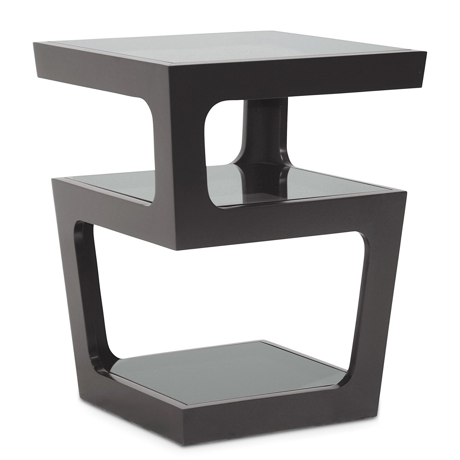 Black Modern Side Table Modern End Table Home Furniture Design