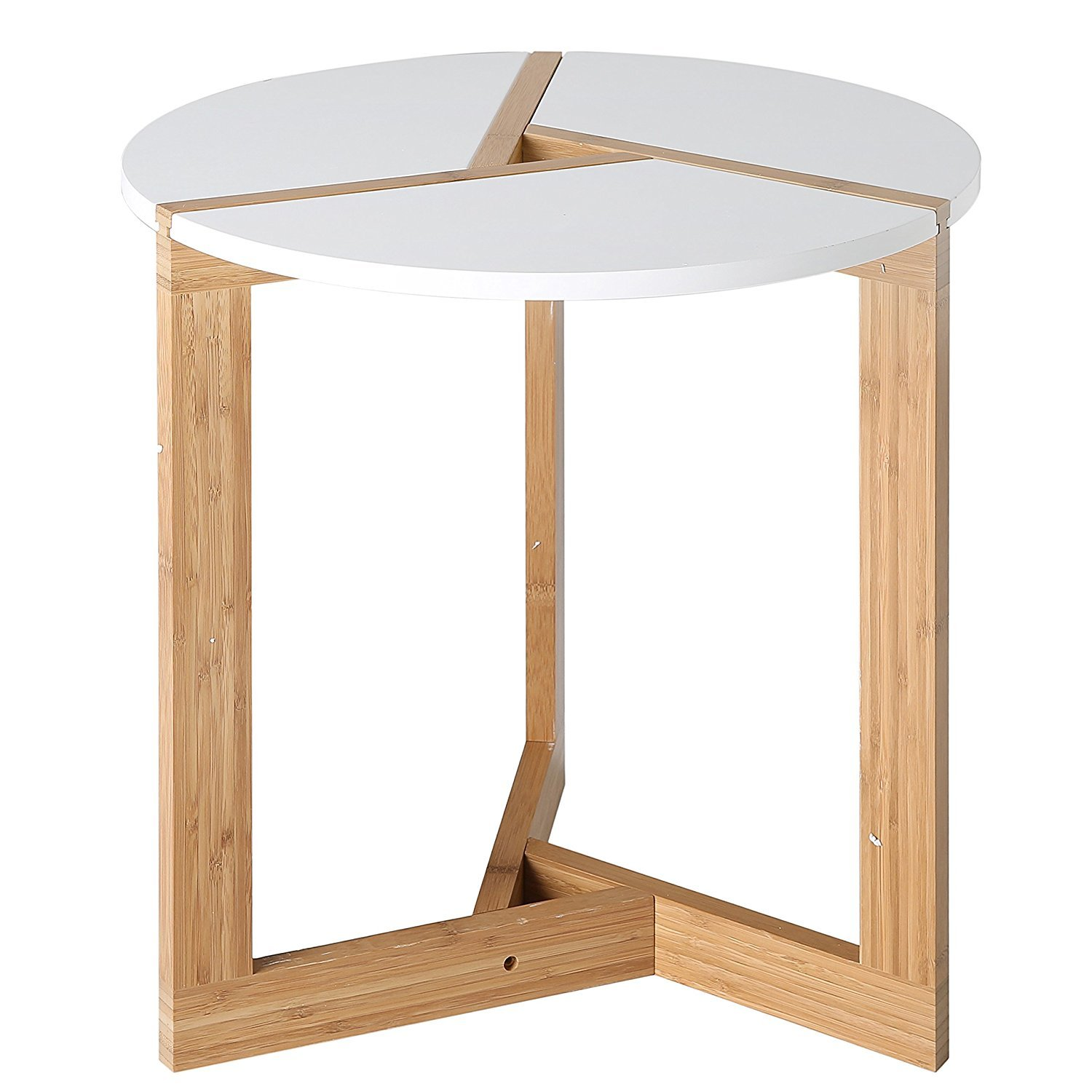 Circular End Tables Modern Round End Table Home Furniture Design