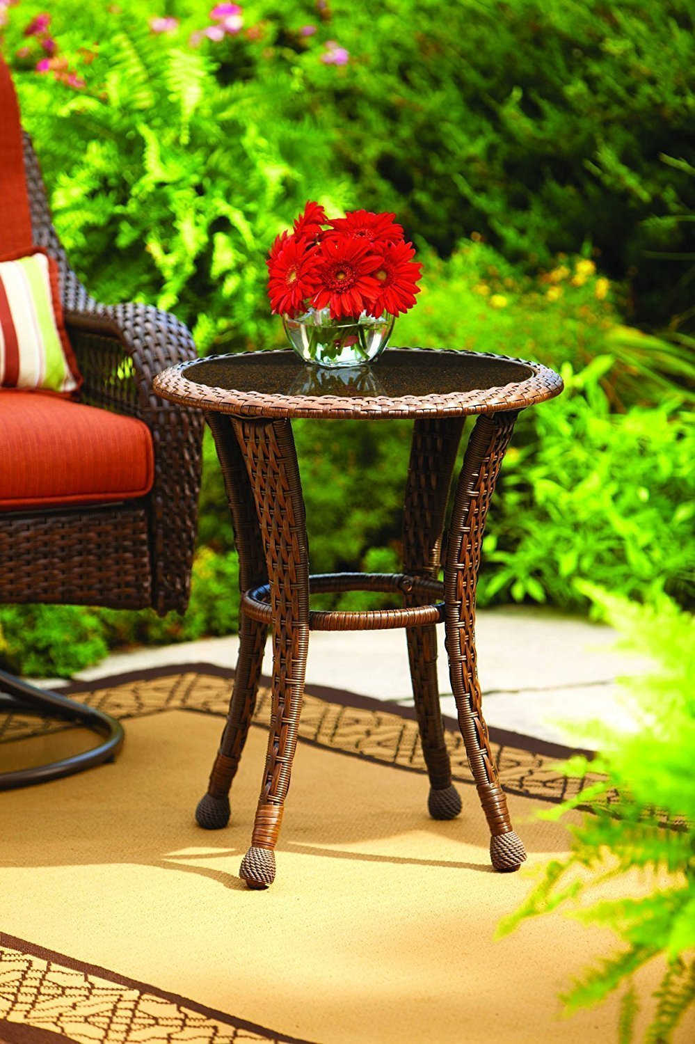 Grill 24 Outdoor Patio End Tables - Home Furniture Design
