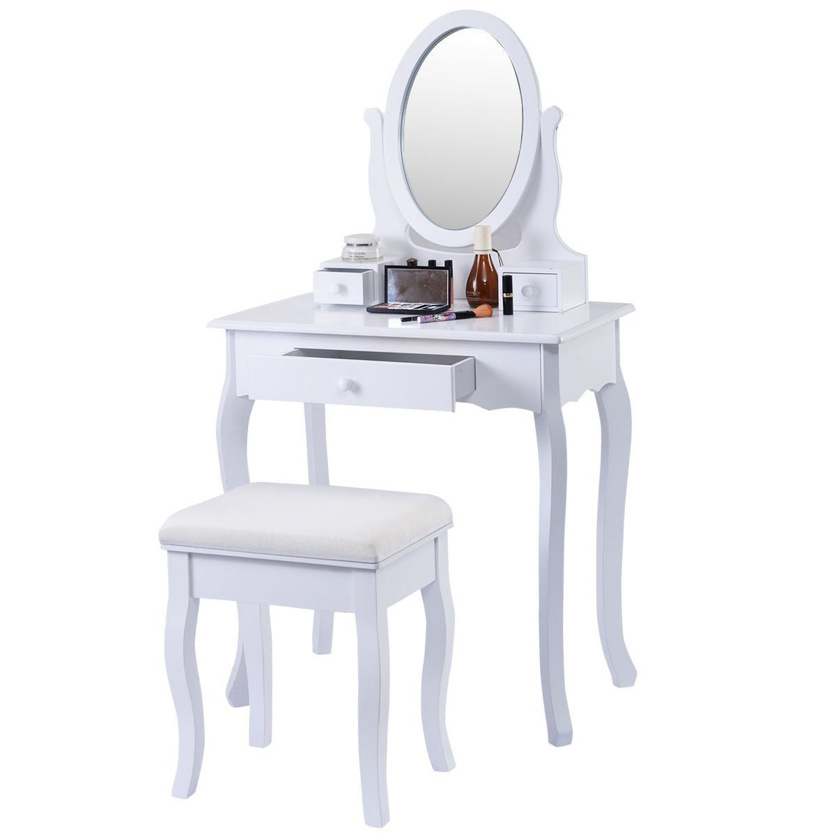 Makeup Tables And Chairs Little Girls Vanity Table And Chair Home Furniture Design