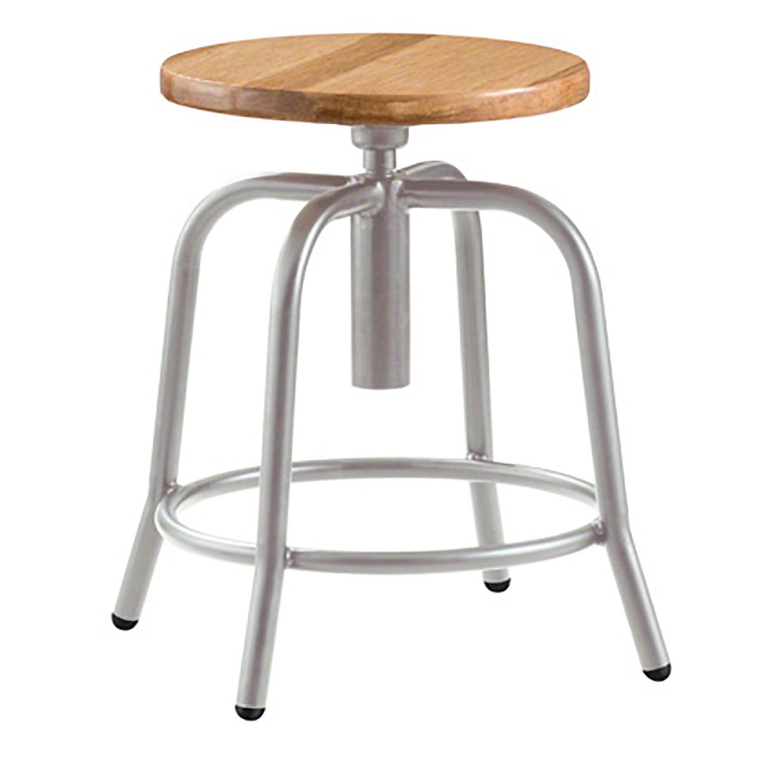 Portable Stool National Public Seating 6800 Series Science Lab Adjustable Height