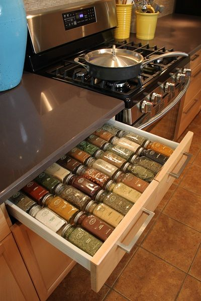 How To Make A Custom Spice Rack Drawer Organizer