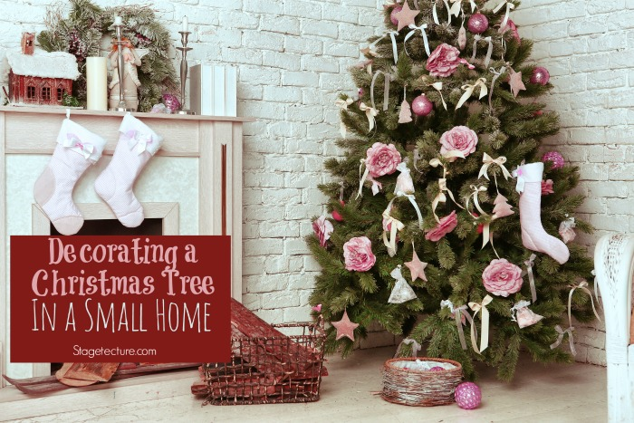 Decorating with a Christmas Tree in your Small Home - small decorative christmas trees